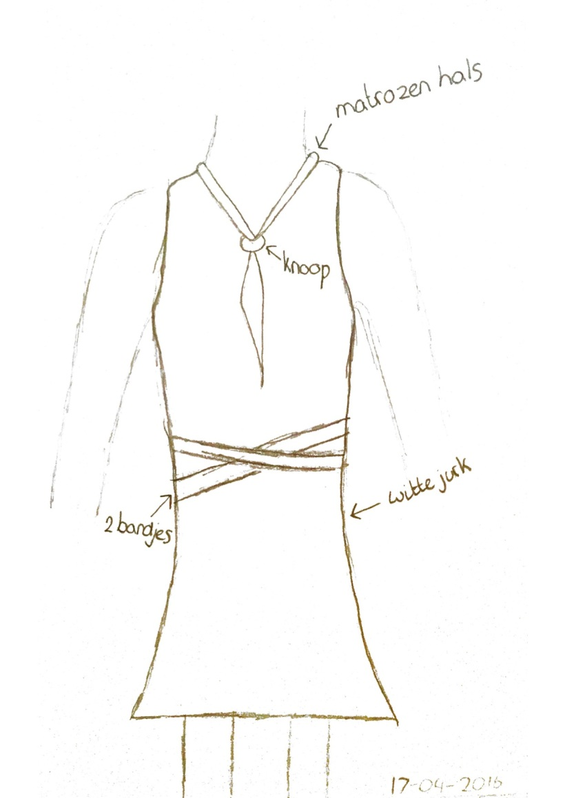 schets naomi design jurk